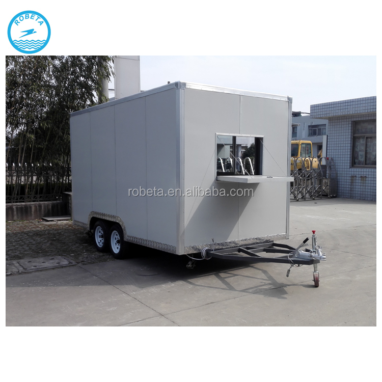 New Big Square Shape Electric Tricycle Trailer Mobile Kitchen Trailer Slide  Out Kitchen - Buy Electric Tricycle Trailer Mobile Kitchen,Trailer Slide