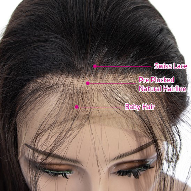 Cheap Online market cuticle alligned full lace straight human hair crown 5x5 closure
