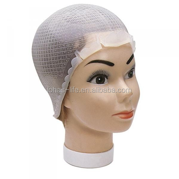 Hair Beauty Salon Silica Gel Highlighting Cap Buy Hair Beauty