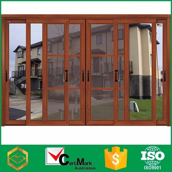 Aluminum Frame Lowes Glass 4 Panel Slide Mobile Home Patio Door