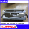 Auto parts Stainless steel front and rear skid bumper Plate For Ford Edge car accessoires from maiker
