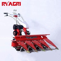 Gear drive sesame / grass / soybean rice wheat reaper binder machine price in pakistan