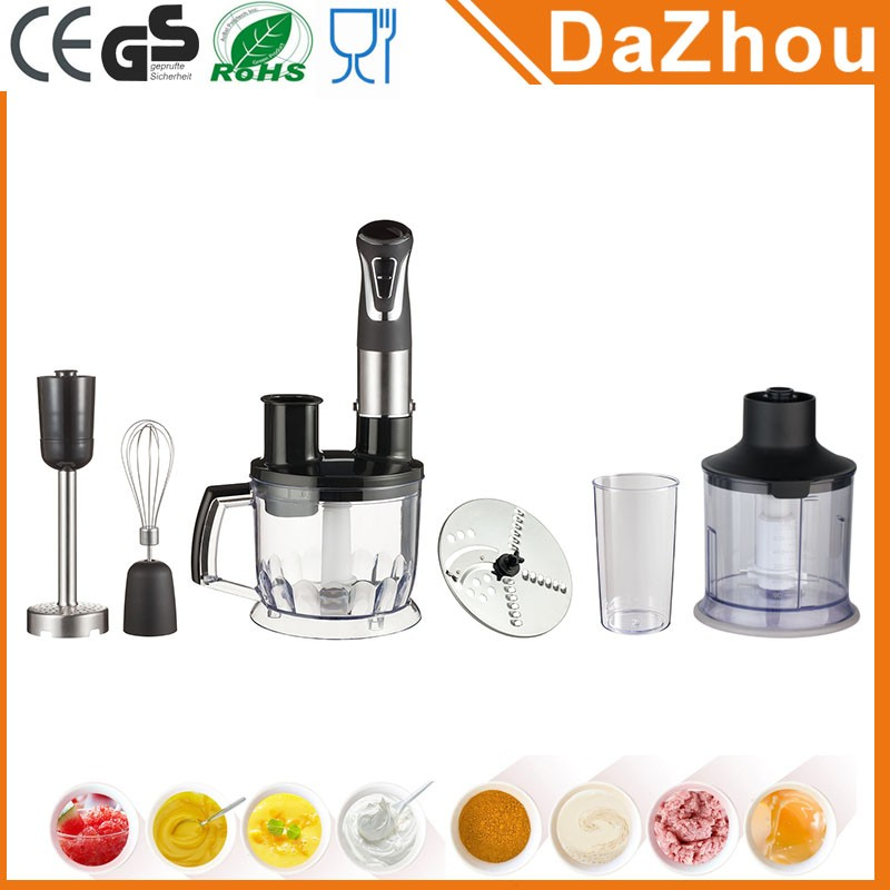 DaZhou Hot Sell Electric Stick Blender As See On Tv Home Kitchen Stick Blender
