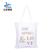 Cheap Printed Fabric Tote PP Laminated Polyester Zipper Bags