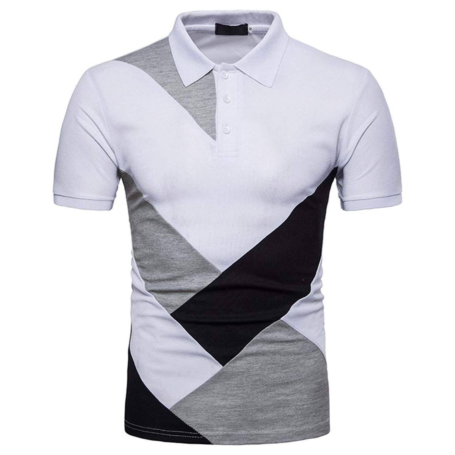 ace3865797f Get Quotations · Sagton Mens Polo Shirts Clearance