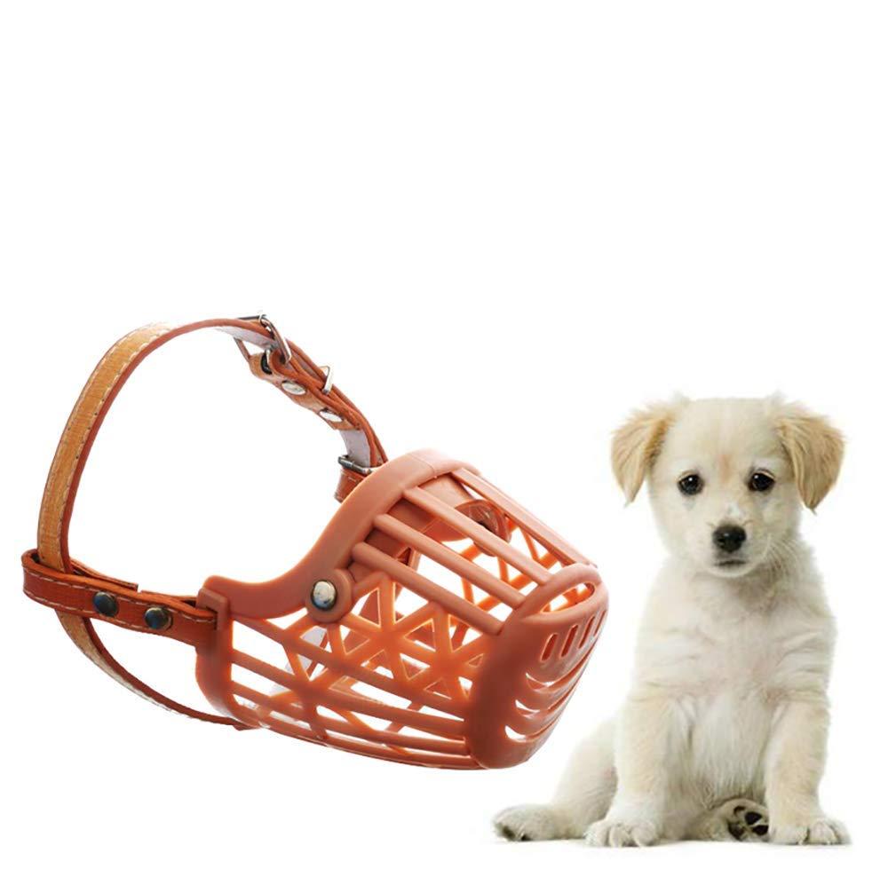Pevor Pet Dog Adjustable Mask Bark Bite Mesh Mouth Muzzle Grooming Anti Stop Chewing, Luxury Dog Muzzle - Anti Biting Barking Chewing Mask for Small Medium Large Dog Safety