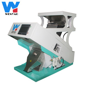 High Output Automatic cashew nut ccd color sorter/processing machine