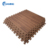 "3/8"" Thick Printed Wood Grain Interlocking Foam Floor Mats 24"" x 24"""