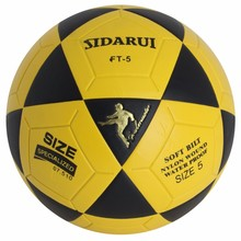 hot sale cheap pvc size 5 laminated training football