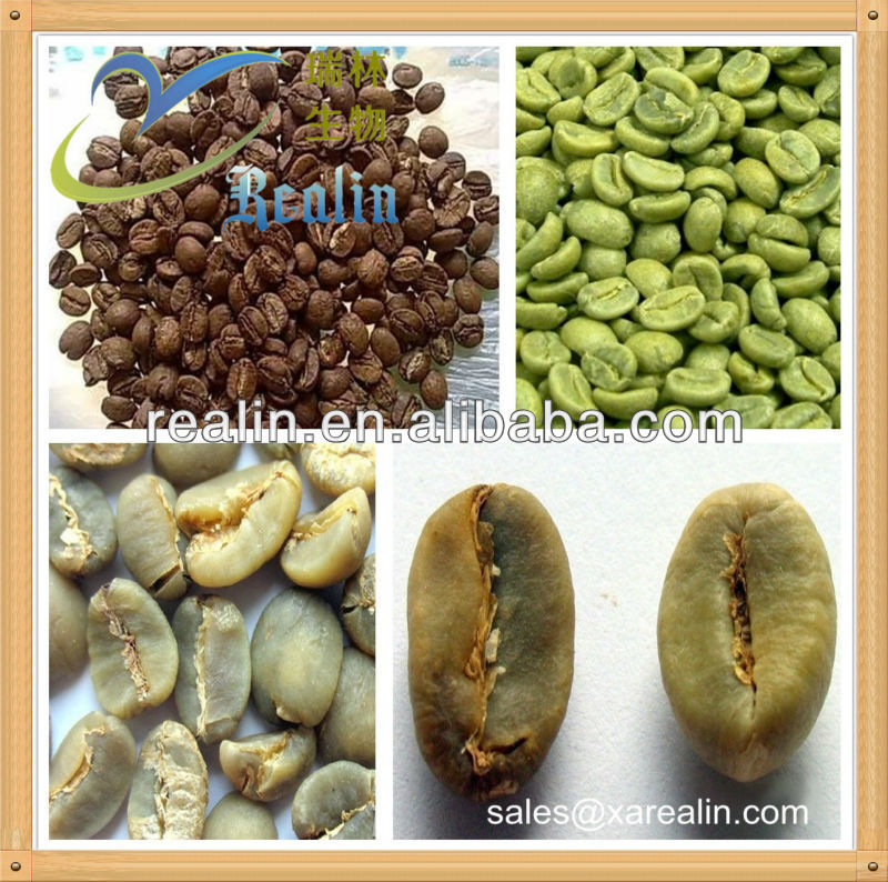 High Quality Pure Natural indonesia green coffee beans extract powder