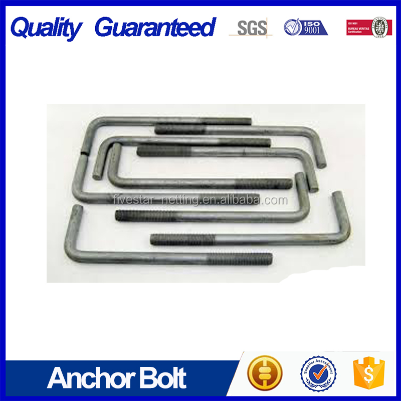 Galvanized M36 anchor bolts