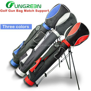 Waterproof Nylon Golf Stand Bag with wheels in golf bag