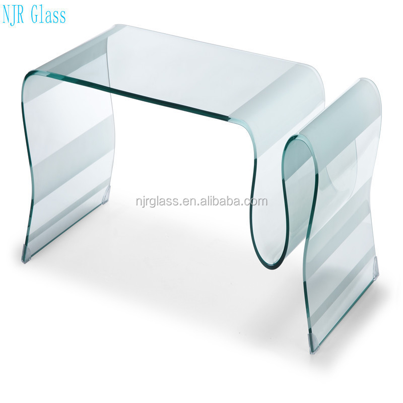 12mm float tempered glass for table glass curved glass