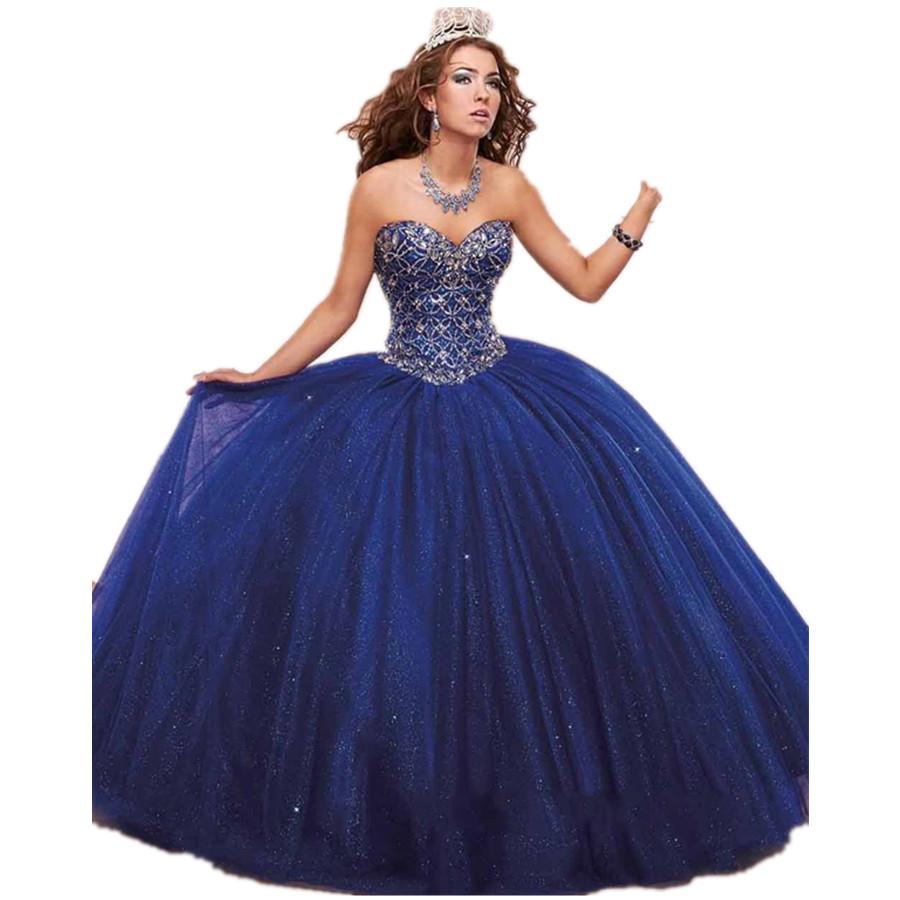 bf6d4271fd9 2015-Modern-Strapless-Ball-Gown-Sequins-Beaded-Quinceanera-