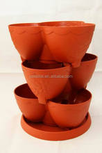 plastic stackable planter/plant pots on sale