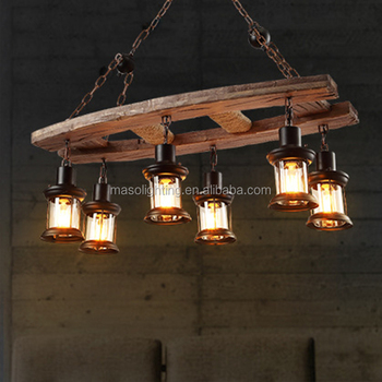 Led Bulbs Fireworks Wood Loft Retro