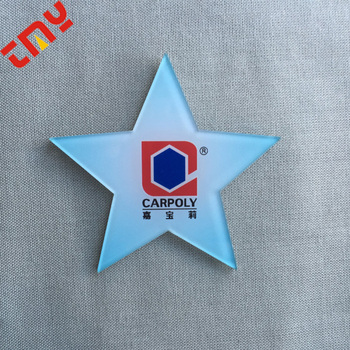 Custom Shaped Name Badges High Quality Star Shaped Pin Badge With Custom  Logo - Buy Star Badge,Star Shaped Badge,Custom Shaped Name Badges Product  on