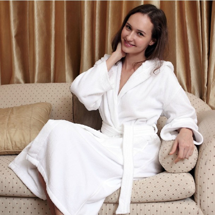 Custom Made Branded Cheap White Turkish Hotel Towels And Bathrobes