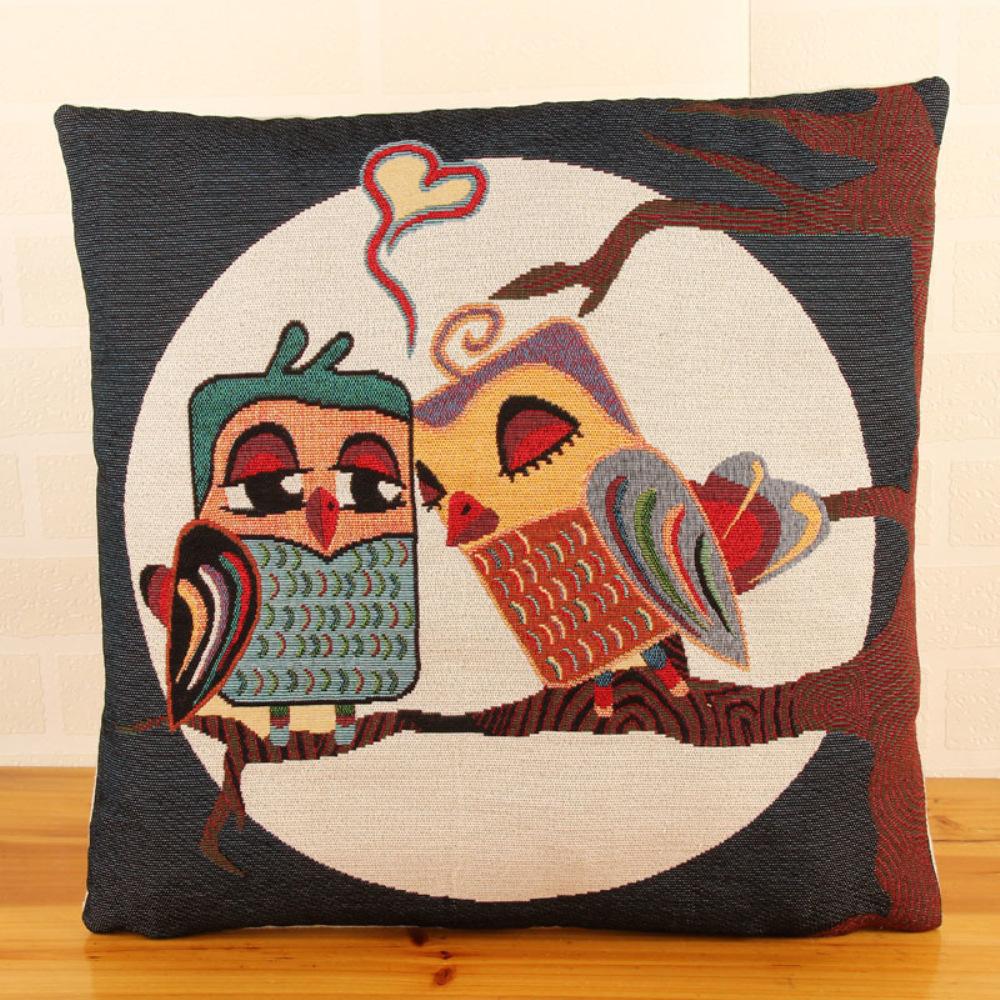 """Scandinavian Cheap Coussin Cuscini 18"""" Cute Owl Sofa"""