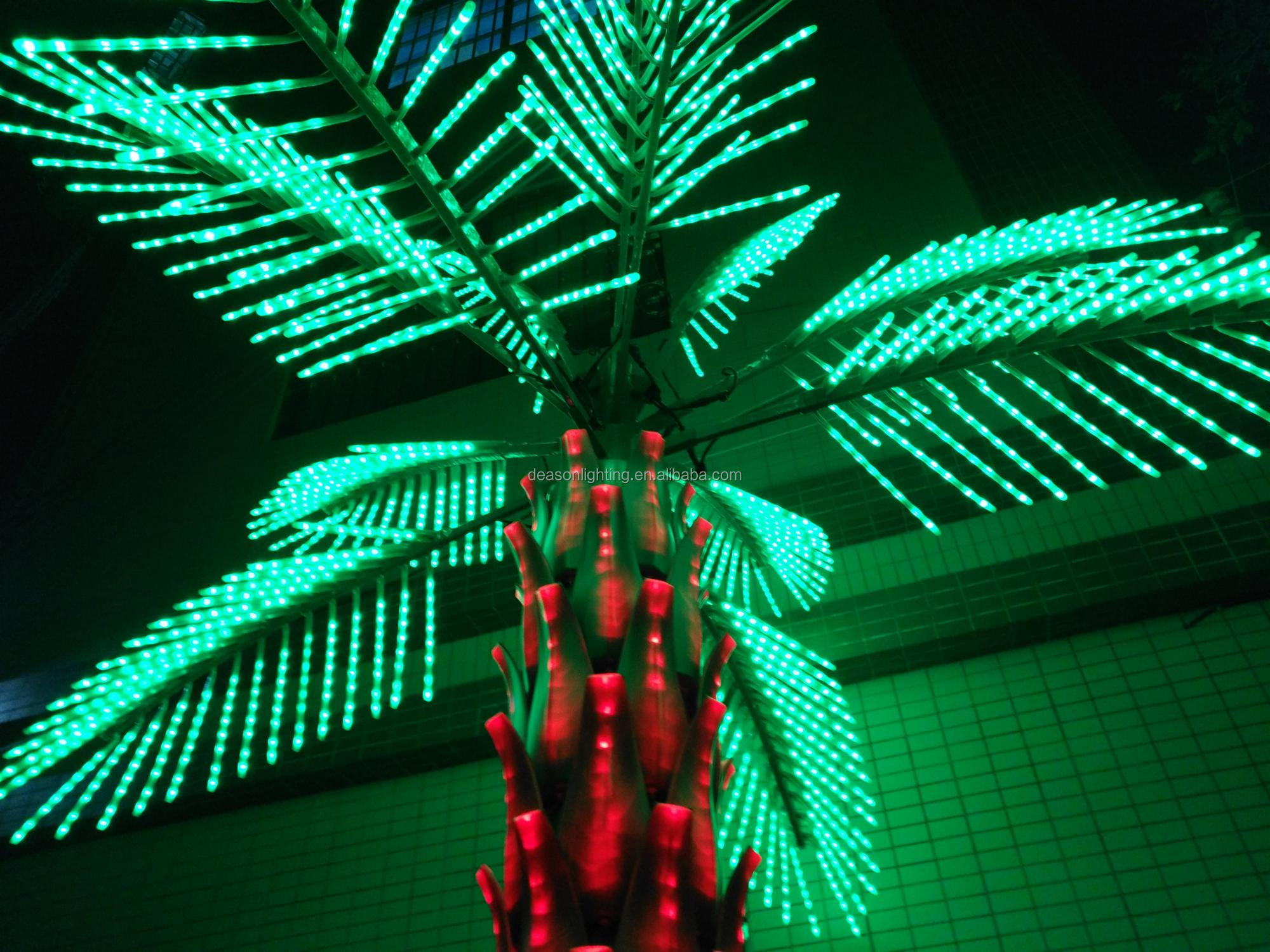 Outdoor Led Electric Lighted Decoration Christmas Palm