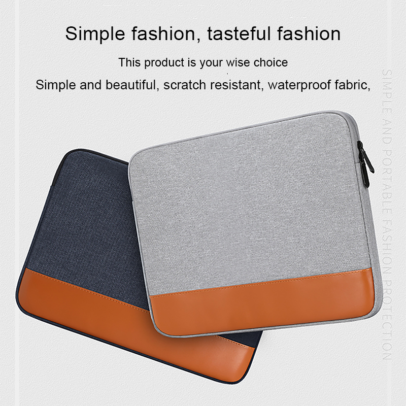 Leather Computer Laptop Sleeve Bag For Women