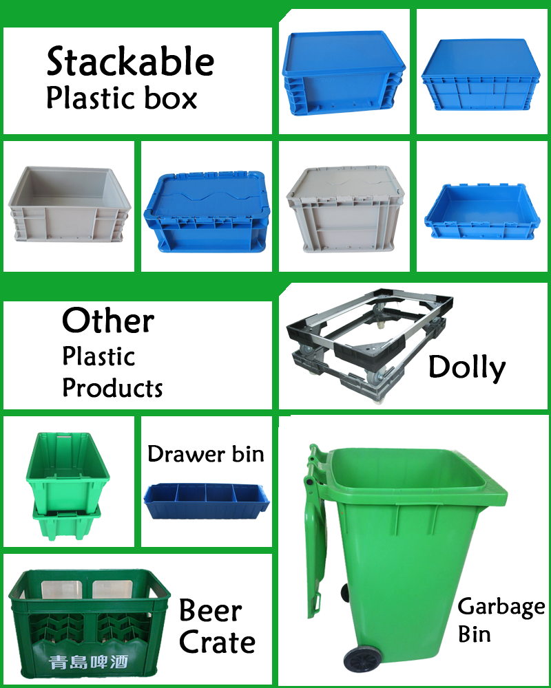 wholesale high quality storage plastic bins warehouse plastic stackable drawer