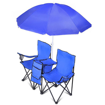 Pleasing Picnic No Assembly Required Wholesale Folding Two Person Camping Chair With Umbrella Buy Folding Camping Chair Two Person Camping Chair No Assembly Creativecarmelina Interior Chair Design Creativecarmelinacom