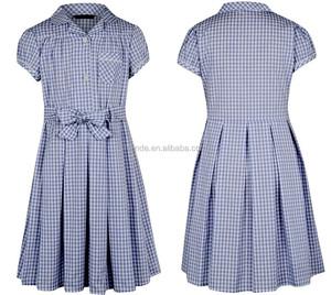 wholesale custom made OEM SHORT SLEEVE school uniform manufacturers in china school uniform 5/6Y,7/8Y,9/10Y,11/12Y,13/14Y
