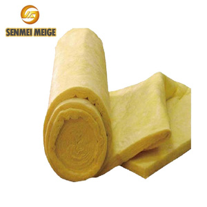Chinese factory house roof and wall heat resistant material fiber glass wool resin bonded material