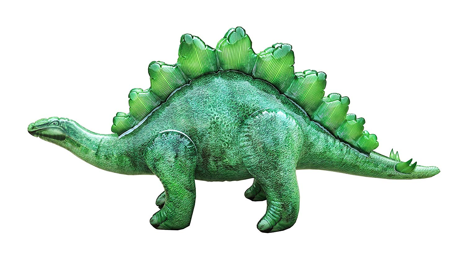 Jet Creations Stegosaurus Inflatable Toy, Multicolor, 46 inch