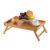 Wholesale food dinner wooden serving tray with handles