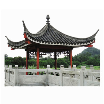 Wooden Gazebo Asphalt Roofing Shingles Chinese Clay Roof