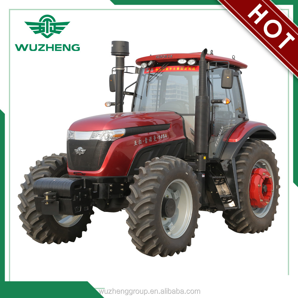 wuzheng large farming 145 HP 4WD tractor for sale