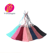 Fashion decoration hot single cheap polyester red wholesale tassel