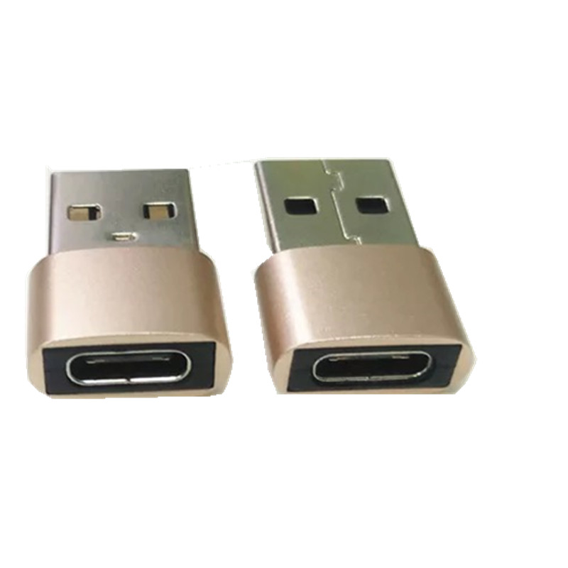 Metal USB 3.0 A type Male to USB 3.1 Type C female OTG data sync charging adapter top quality фото
