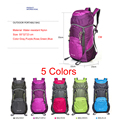 2015 Free Shipping Professional Folding Hiking Camping Bag 35L Water resistant Backpack for travel Climbing Cycling