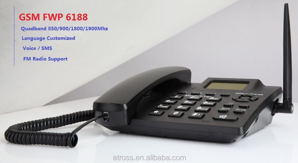 Best-selling Etross 6188,Caller Id Displayed,Cdma Cordless Phone ...