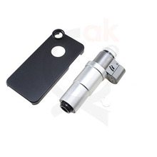 portable slit LED lamp Light Microscope 200x zoom digital loupe microscope for smartphone with phone mounts