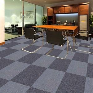Eco-Friendly PP Plain Carpet Tiles 50X50