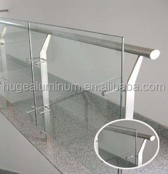 Modern Balcony Aluminum Glass Railing Designs Buy Modern Balcony