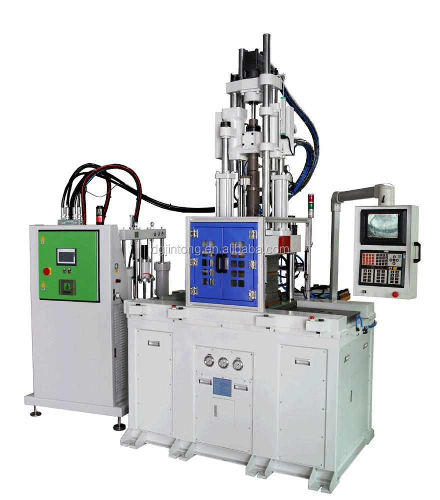 LSR liquid silicone rubber double slide shuttle injection molding machine 85T
