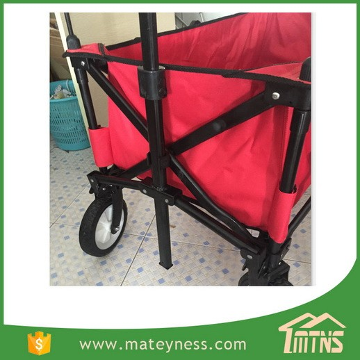 Collapsible Folding Outdoor 4 Wheel Kids Beach Wagon