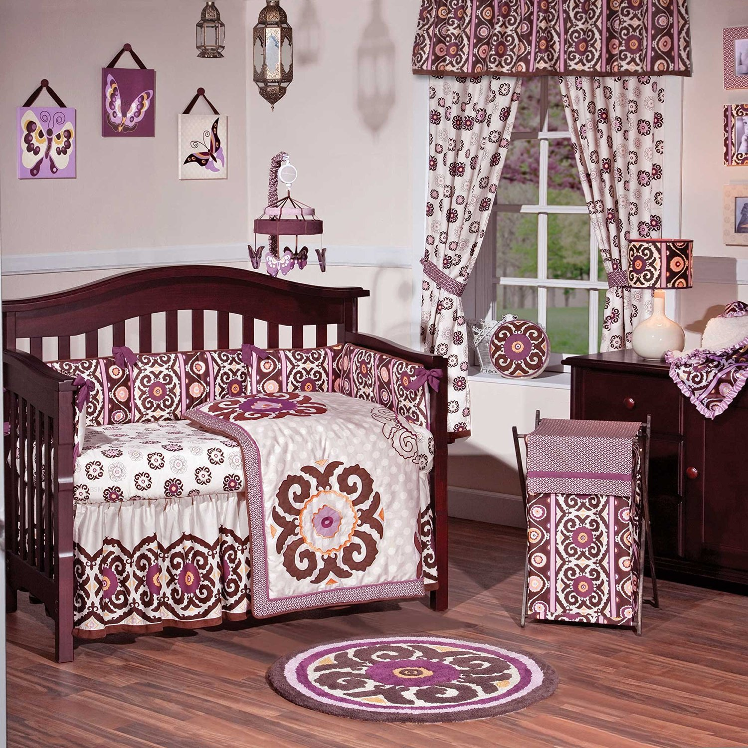 Buy Jasmina 4 Piece Baby Crib Bedding Set By Cocalo Couture In Cheap