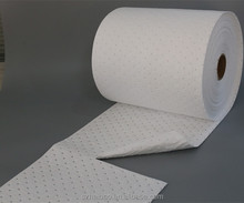 Industrial 100% PP perforated Oil Absorbent Roll Polyethylene fiber