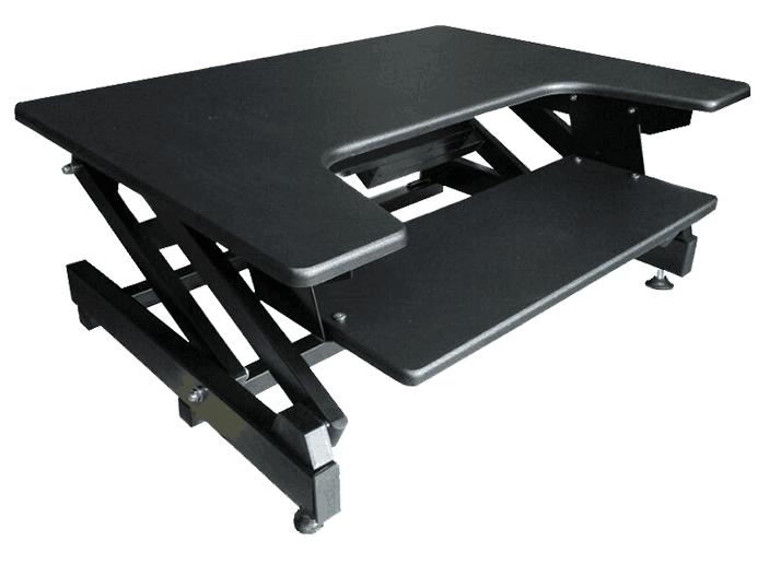 soporte informtico soporte de pie escritorio elctrica para