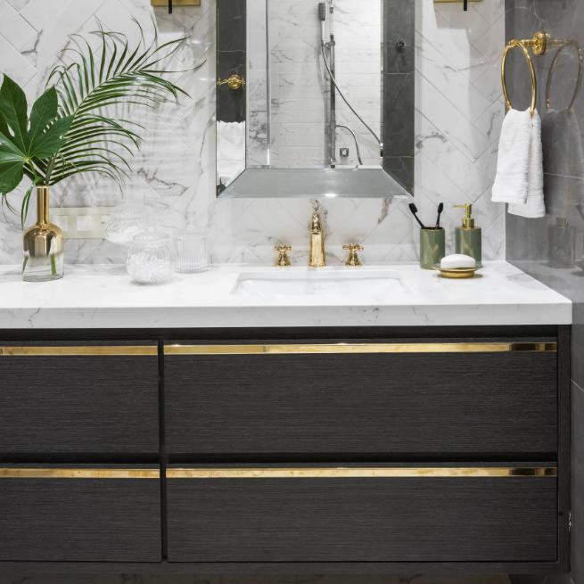 Clical Bathroom Vanity Cabinet