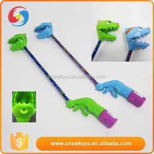 double function plastic water gun with handy grabber toys animals hand clip