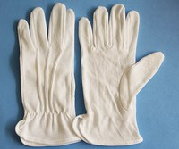 Car Driving PVC Dotted Cotton Driver Gloves