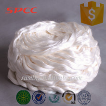 wholesale D4 cheap price pure silk fiber tops