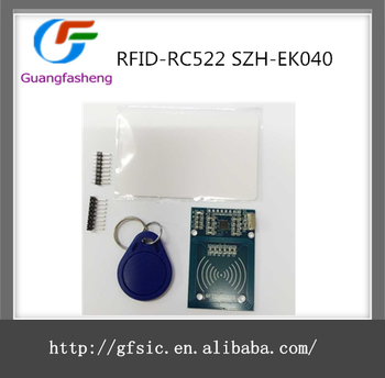 Rfid-rc522 Szh-ek040 Radio Frequency Ic Card Inductive Proximity Module Spi  Interface Read And Write - Buy Rfid-rc522 Szh-ek040,Rfid-rc522 Szh-ek040